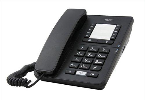Karel TM142 Hafızalı Tuşlu Telefon Makinesi