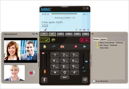 Karel YT 520 Yazılım Tabanlı Görüntülü Ip Telefon